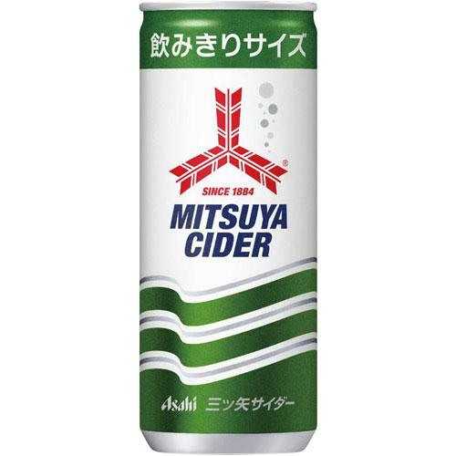 アサヒ飲料 三ツ矢サイダー250ml 30本