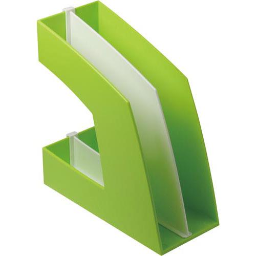ソニック ファイルボックス タテ型 グリーン