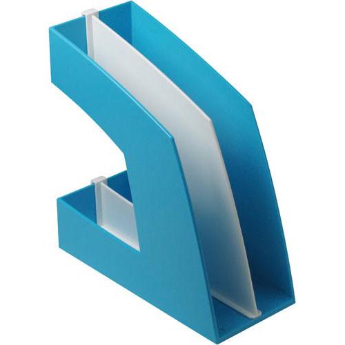 ソニック ファイルボックス タテ型 ライトブルー 5個
