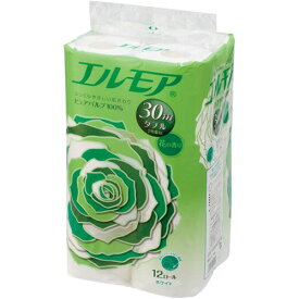 カミ商事 エルモア 12ロール ダブル 花の香り×8