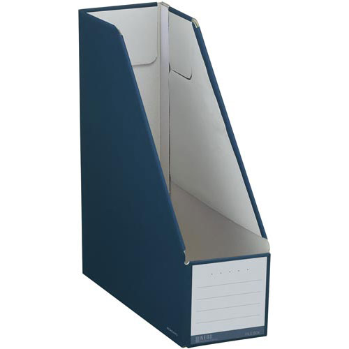 コクヨ ファイルボックス<NEOS> A4スタンド型紺