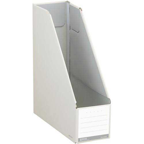 コクヨ ファイルボックス<NEOS>A4スタンド型 白