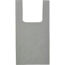 オルディ カラーレジ袋Mサイズ厚み0.02 グレー 20枚