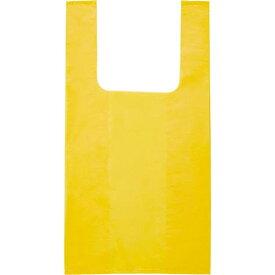オルディ カラーレジ袋Mサイズ厚み0.02 イエロー 20枚