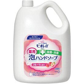 花王 ビオレu 泡ハンドソープ フルーツ 詰替 4L