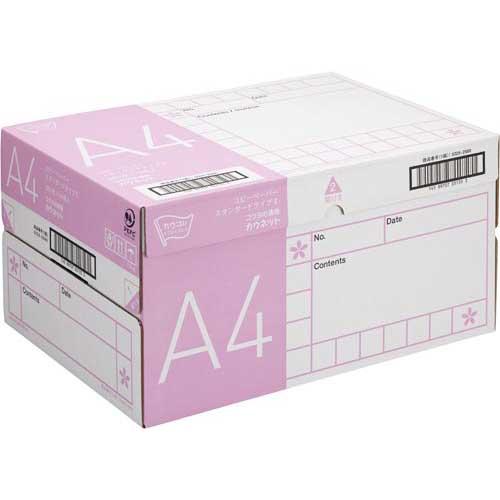 「カウコレ」プレミアム コピー用紙 タイプ2 A4 500枚×10冊 1箱【1nin】【random_lp】関連ワード【コピー用紙 印刷用紙 プリンター用紙】