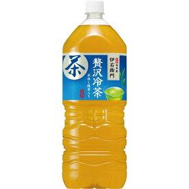 サントリーフーズ 伊右衛門 贅沢冷茶 2L 6本