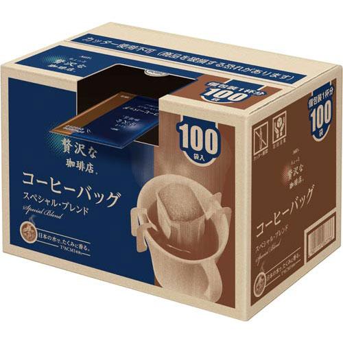 AGF ちょっと贅沢な珈琲店ドリップ スペシャルB100杯【1two】