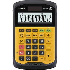 カシオ 電卓 防水・防塵 デスク型 WM−320MT−N