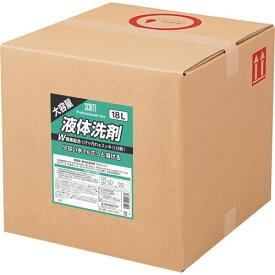 熊野油脂 スクリット 業務用液体洗剤 18L
