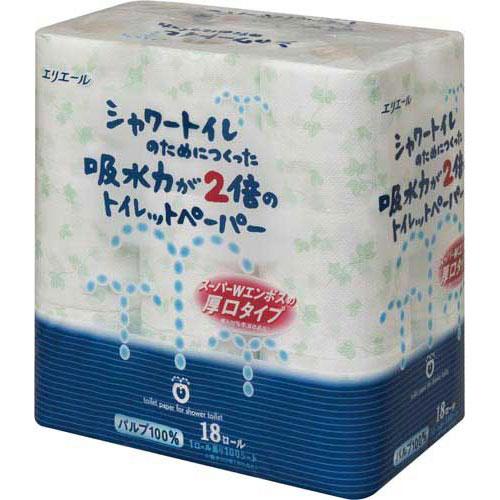 ダイオーペーパー シャワートイレ ダブル23m 18個入×6関連ワード【トイレットペーパー ダブル 108ロール】