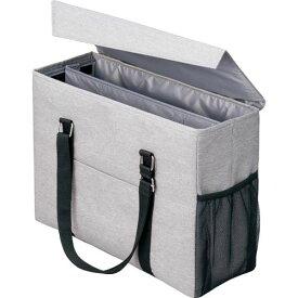 「カウコレ」プレミアム 外出にも使えるミーティングバッグ 灰×灰