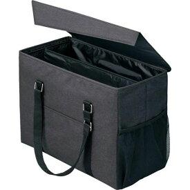 「カウコレ」プレミアム 外出にも使えるミーティングバッグ ラージ 黒×黒
