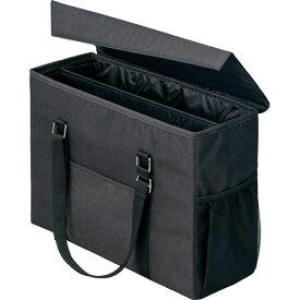 「カウコレ」プレミアム 外出にも使えるミーティングバッグ 黒×黒