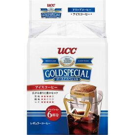 UCC UCCゴールドスペシャルドリップアイスコーヒー6P