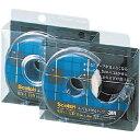 スリーエムジャパン スコッチはってはがせるテープ小巻カッター付18mm