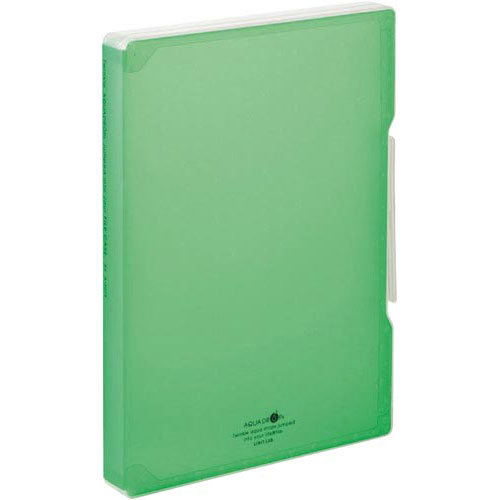 リヒトラブ ファイルケース A4 黄緑