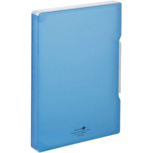 リヒトラブ ファイルケース A4 青