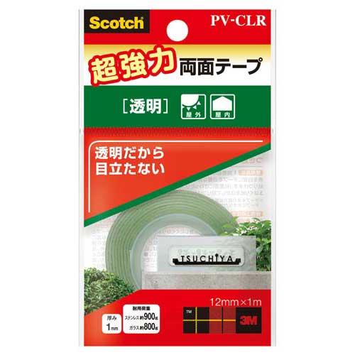 スリーエムジャパン スコッチ超強力両面テープ透明 12mm