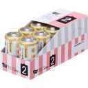 「カウコレ」プレミアム アルカリ乾電池(日本製) 単2 10本×3
