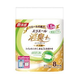 大王製紙 エリエール 消臭+トイレット ほのかに香る8R