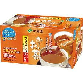 伊藤園 おーいお茶 さらさらほうじ茶スティック 100本