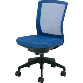 アイリスチトセ シンフォート回転椅子メッシュブルー