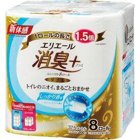 大王製紙 エリエールコンパクト 消臭+ W37.5m 8個