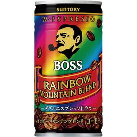 サントリーフーズ ボス レインボーマウンテン 185g 60缶