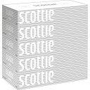 日本製紙クレシア スコッティ ティシュー 5箱パック 200組