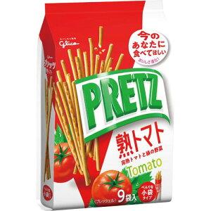 江崎グリコ プリッツ熟トマト 9袋×3