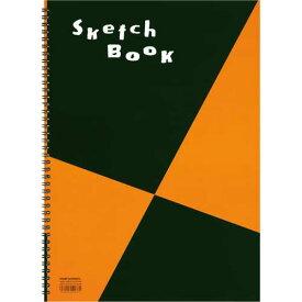 マルマン スケッチブックB4相当 画用紙並口 24枚×10