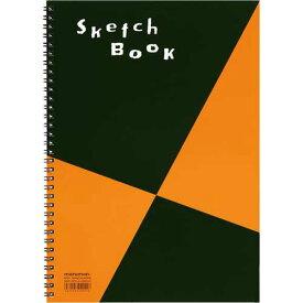 マルマン スケッチブックA4相当 画用紙並口 24枚×10
