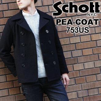 kawa | Rakuten Global Market: SCHOTT shot 753 US PEA COAT 24 oz ...