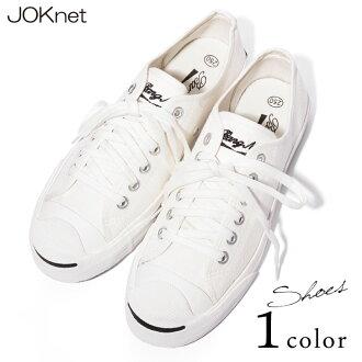 含线的基本的英国文字刺绣白运动鞋运动鞋鞋鞋白白低切素色懒汉鞋平跟鞋女士扫描公共汽车地petankokutsu坡球座
