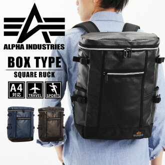 ALPHA阿尔法箱型碳大衣广场帆布背包4812阿尔法工业广场帆布背包户外旅行背包帆布背包大容量A4收藏