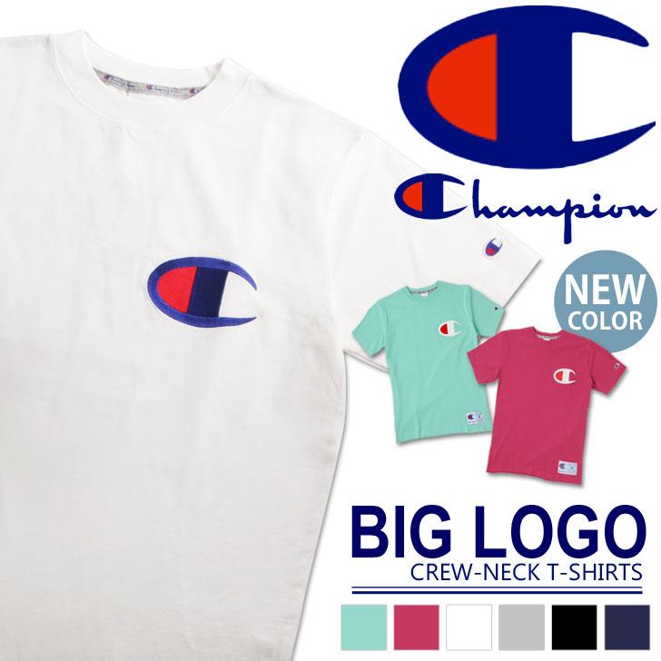 チャンピオン Champion tシャツ アクションスタイル ビッグロゴ Tシャツ C3-F362 メンズ レディース ユニセックス トップス 半袖Tシャツ チャンピオン 半袖 シャツ ブランド ビッグC ロゴ シンプル 夏服 ファッション