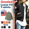 The size that Goodwear good wear loose fit long length Longus Reeve T-shirt men gap Dis tops long sleeves Ron T long T-shirt big silhouette cut-and-sew has a big