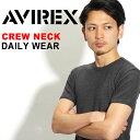 送料無料 AVIREX Tシャツ アビレックス デイリー Tシャツ avirex アヴィレックス メンズ レディース クルーネック Tシャツ 6143502 6...