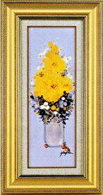 絵画 Y.H.ユーン(画号/優人) 「花」 開運 アート ・油絵