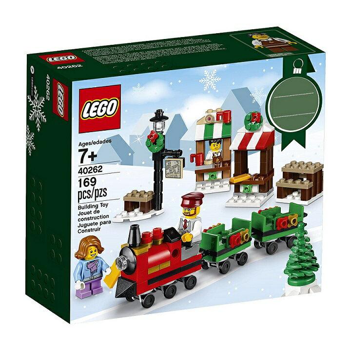 LEGO 【 レゴ レゴブロック ブロック クリスマストレインライド クリスマス クリスマスプレゼント グッズ 玩具 おもちゃ 人形 ミニフィギュア Xmas Train Ride 40262】