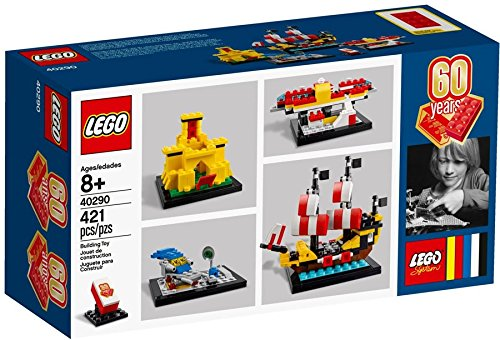 LEGO 【 レゴ レゴブロック ブロック 60周年記念セット グッズ 玩具 おもちゃ オモチャ 人形 ミニフィギュア 60Years of the LEGO 40290 】