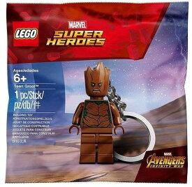 LEGO 【 レゴ レゴブロック ブロック マーベル スーパーヒーローズ アベンジャーズ ティーン グルート グッズ 玩具 おもちゃ 人形 ミニフィギュア LEGO Marvel Super Heroes Teen Groot 5005244】