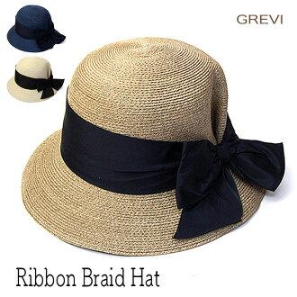"""모자 이탈리아 """"GREVI (그 레 빌)"""" 리본 끈 모자 [모자] 05P05Nov16"""