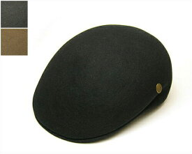 """【ウインターセール】 帽子 イタリア""""GUERRA1855(グエラ)"""" ファーフエルトハンチング メンズ 秋冬 プロムナード [大きいサイズの帽子アリ]"""