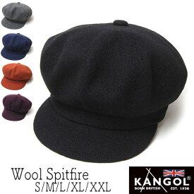 """帽子 """"KANGOL(カンゴール)"""" ウールキャスケット WOOL SPITFIRE メンズ レディース 秋冬 [大きいサイズの帽子アリ][小さいサイズ対応]"""