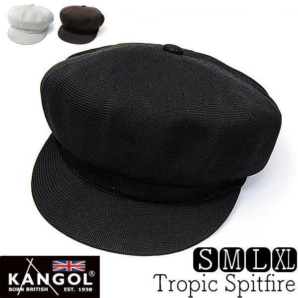 """帽子 """"KANGOL(カンゴール)""""トロピックキャスケット[TROPIC SPITFIRE]【あす楽対応】 [大きいサイズの帽子アリ][小さいサイズあり]【コンビニ受取対応商品】 *18ss1"""