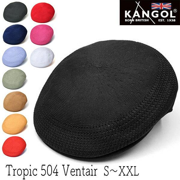 """帽子 """"KANGOL(カンゴール)""""ハンチング[TROPIC 504 VENTAIR]【あす楽対応】 [大きいサイズの帽子アリ][小さいサイズあり]【コンビニ受取対応商品】 *18ss1"""