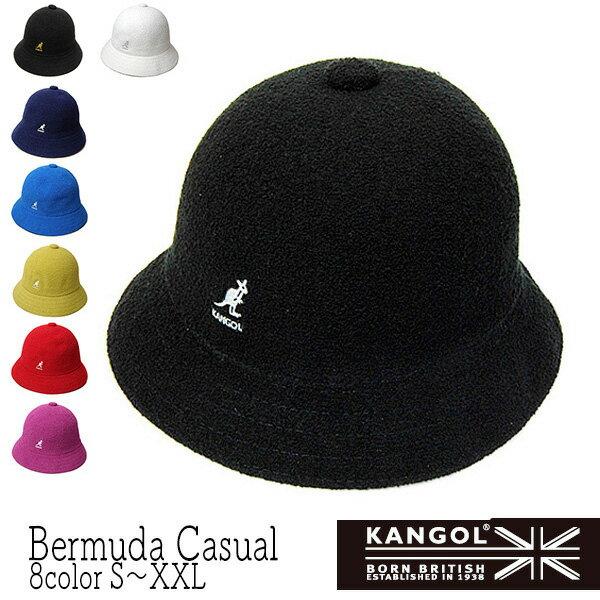 """帽子 """"KANGOL(カンゴール)"""" バミューダカジュアル[BERMUDA CASUAL][ハット] 【あす楽対応】 [大きいサイズの帽子アリ][小さいサイズの帽子あり]【コンビニ受取対応商品】"""