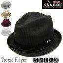 """帽子 """"KANGOL(カンゴール)""""ニット中折れ帽[TROPIC PLAYER][ハット] 【あす楽対応】 【送料無料】[大きいサイズの帽…"""